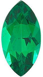 Marquise Cut Genuine Emerald in Grade AAA