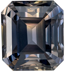 Must See Unique GIA Certified No Heat Genuine Color Change Sapphire Gem in Emerald Cut, 7.77 x 6.97 mm in Gorgeous Stone, 3.22 carats