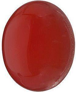 Red Carnelian  in Grade AAA Oval Cab Gems