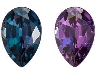 Stunning Alexandrite Pear Shaped Gemstone, 0.33 carats, 5.1 x 3.5mm - Super Great Buy