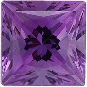 Swarovski Gems Violet Princess Genuine Amethyst  in Grade FINE