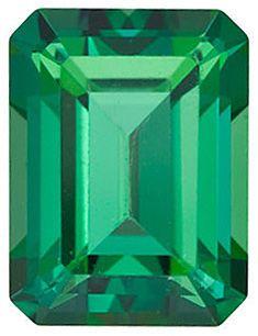 Swarovski  Rainforest Passion Topaz Emerald Cut in Grade AAA