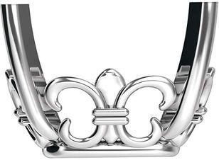 Fabulous 14kt Gold 4-Prong Fleur-de-lis Setting for Antique Cushion Shape Gemstone Sized 8.00 x 6.00 mm to 14.00 x 10.00 mm