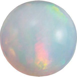 Genuine Ethiopian Opal Round Cut in Grade AAA