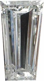 Genuine Tapered Baguette Diamond - G-H Color Grade VS Clarity
