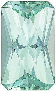 Very Special Sea Foam Blue Tourmaline Radiant Cut, 16.0 x 9.6 mm, 9.34 carats