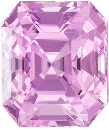 Baby Pink GIA No Heat Pink Sapphire Gem, 1.46 carats 6.3 x 5.3 mm Size