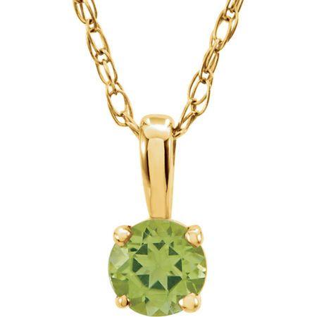 Shop 14 Karat Yellow Gold Gold Peridot 14