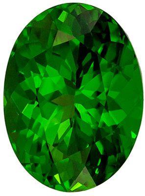 Beautiful 2.05 carats Chrome Tourmaline Oval Genuine Gemstone, 9.2 x 6.8 mm