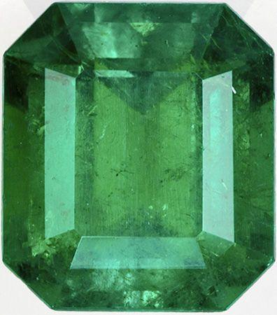 Impressive Emerald Gem in GIA Certified Emerald in Zambian Stone, Killer Green Color in Emerald Cut, 9.16 x 8.07 x 5.67 mm, 2.81 carats