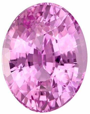 Quality Pink Sapphire Gemstone, 2.9 carats, Oval Cut, 9.2 x 7.2 mm, Low Low Price