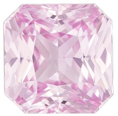 A Beauty of A Gem Octagon Cut Natural Pink Sapphire Loose Gemstone, 1.57 carats, 6.1 x 6 mm , Great Ring Gemstone