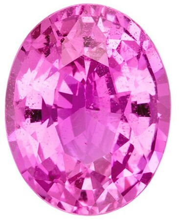 Real Pink Sapphire Gemstone, Oval Cut, 2.2 carats, 8.97 x 7.03 x 4.43 mm , AfricaGems Certified - A Deal