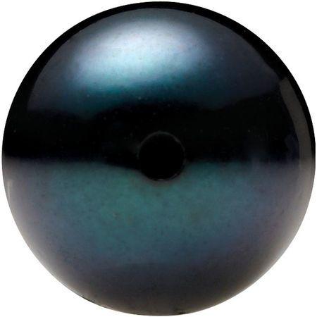 Black Akoya Pearls Grade AAA - Half Drilled