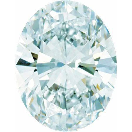 GH Color - SI Clarity Lab Grown Oval Diamonds