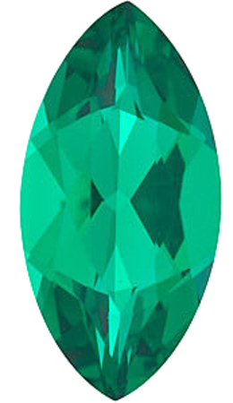 Chatham Lab Emerald Marquise Cut in Grade GEM