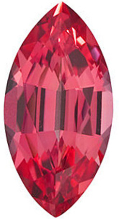 Chatham Lab Padparadscha Sapphire Marquise Cut in Grade GEM