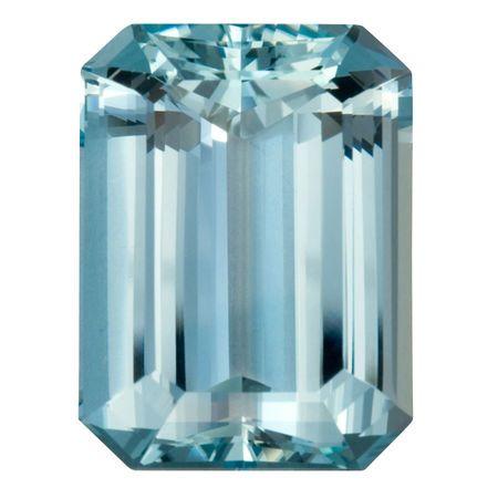Deal on Aquamarine Gemstone in Octagon Cut, 20.72 carats, 20 x 14.76 mm , Rare No Heat Aqua