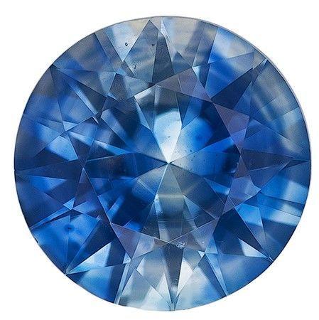 Deal on  Round Cut Beautiful Blue Sapphire Gemstone, 0.74 carats, 5.4 mm , Stunning Cut