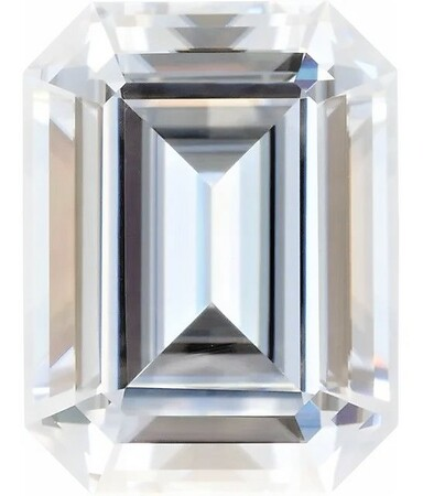 Forever One DEF Colorless Emerald Cut