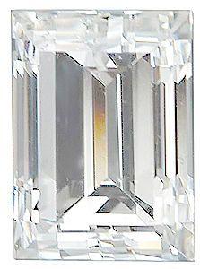 Genuine Diamond Straight Baguette - G-H Color - SI Clarity