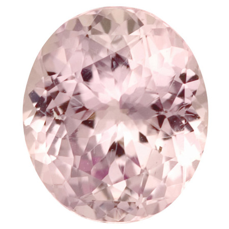 Genuine Pink Sapphire Gemstone in Oval Cut, 4.17 carats, 10.28 x 9.07 mm Displays Vivid Pink Color