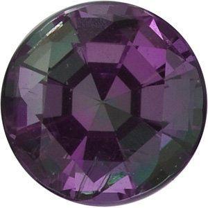 Genuine Round Alexandrite Gemstones in Grade GEM