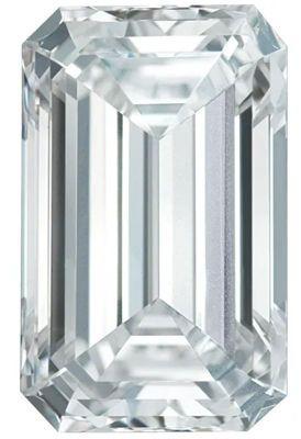 GH Color - SI1 Clarity Lab Grown Emerald Diamonds