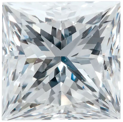 GH Color - SI1 Clarity Lab Grown Princess Diamonds