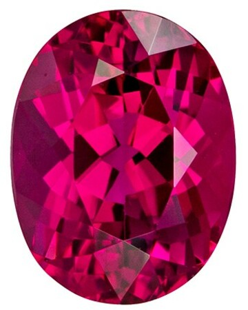 Authentic Red Tourmaline Gemstone, Oval Cut, 2.71 carats, 9.7 x 7.4 mm , AfricaGems Certified - A Great Buy
