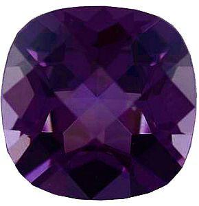 Imitation Amethyst Antique Square Cut Checkerboard Stones