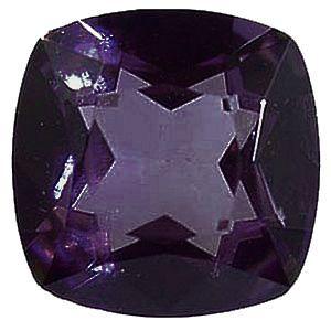 Imitation Amethyst Antique Square Cut Stones