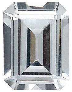 Imitation Diamond Emerald Cut