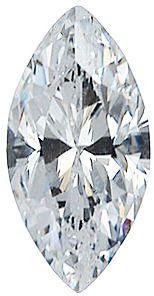 Imitation Diamond Marquise Cut