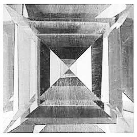 Imitation Diamond Square Cut