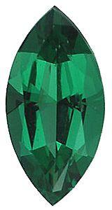 Imitation Emerald Marquise Cut Stones