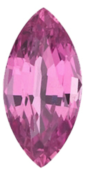 Imitation Pink Tourmaline Marquise Cut Stones