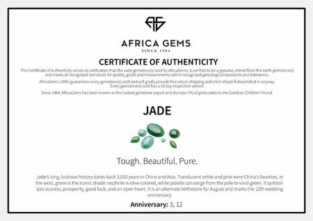 Pear Cabochon Genuine Jade Gem in Pear Cut in Grade AAA