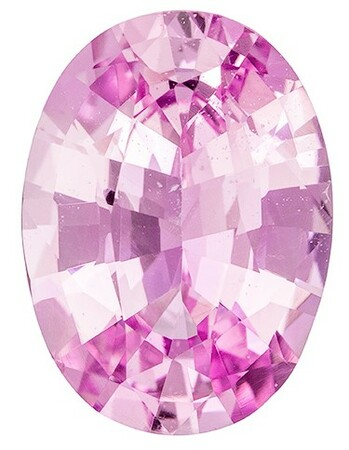 Loose Pink Sapphire Gemstone, Oval Cut, 3.99 carats, 11.98 x 8.78 x 4.93 mm , GIA Certified - A Unique Beauty