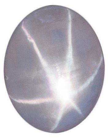 Natural  Star Sapphire Gemstone, 2.4 carats, Oval Shape, 8.1 x 6.4 mm, A Wonderful Find