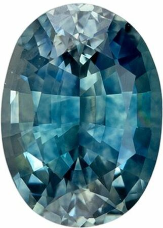 Highly Requested Genuine Loose Blue Green Sapphire Gemstone in Oval Cut, 6.9 x 4.9 mm, Teal Blue Green, 1.09 carats