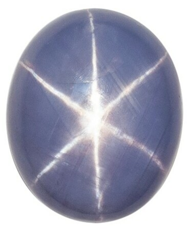 Low Price Star Sapphire Gemstone, 5.18 carats, Oval Shape, 9.7 x 8 mm, Unusual Find