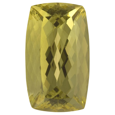 Low Price Yellow Beryl Gemstone in Antique Cushion Cut, 62.04 carats, 33 x 18.60 mm Displays Pure Yellow Color