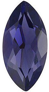 Marquise Cut Iolite Gemstones in Calibrated Sizes