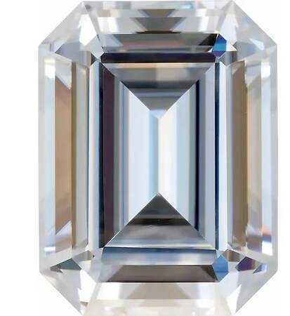 Forever One GHI Near Colorless Emerald Cut