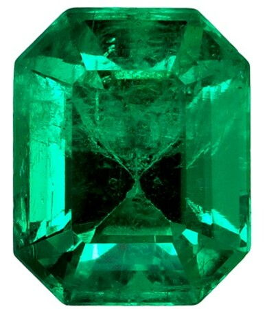 Natural Vibrant Emerald Gemstone, Emerald Cut, 1.14 carats, 6.9 x 5.5 mm , AfricaGems Certified - A Beauty of A Gem