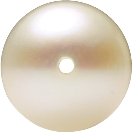 Natural White Akoya Pearls in Full Drilled AAA Grade