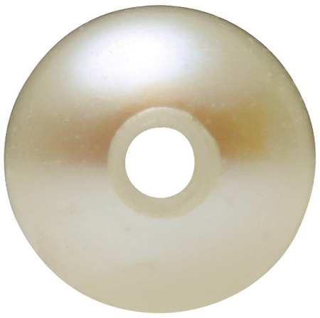 Natural White Cultured Pearls in Full Drilled Grade AA