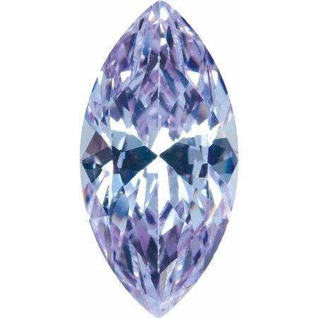 Purple Cubic Zirconia Marquise Cut Stones