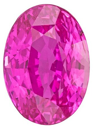 Large Fine Pink Sapphire Gemstone, Oval Cut, 4.02 carats, 10.16 x 7.28 x 6.08 mm , GRS Certified - A Deal